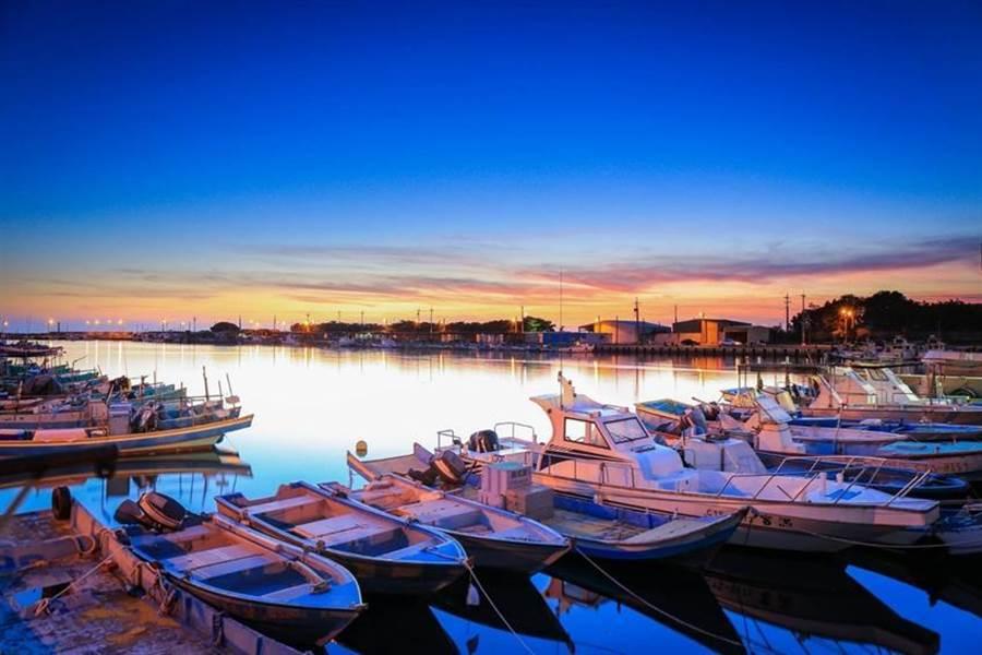 漁青發起社會參與,彌陀漁村美麗再生。圖/漁業署提供