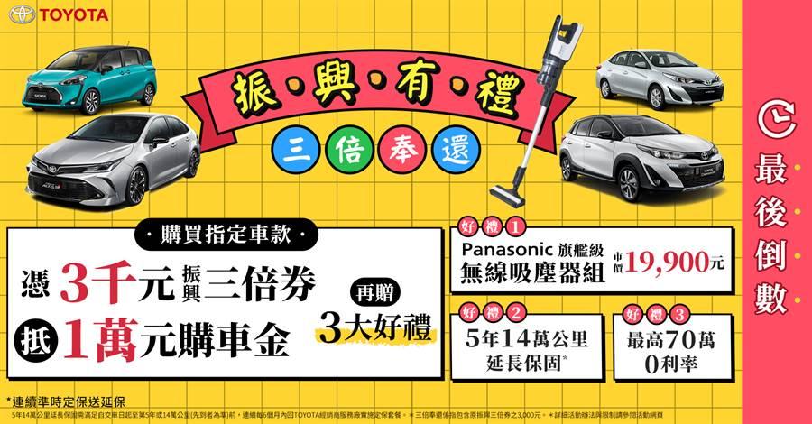 7月車市開紅盤,TOYOTA單一品牌搶下近3成市場銷售 RAV4熱銷3,961台,創歷史次高紀錄