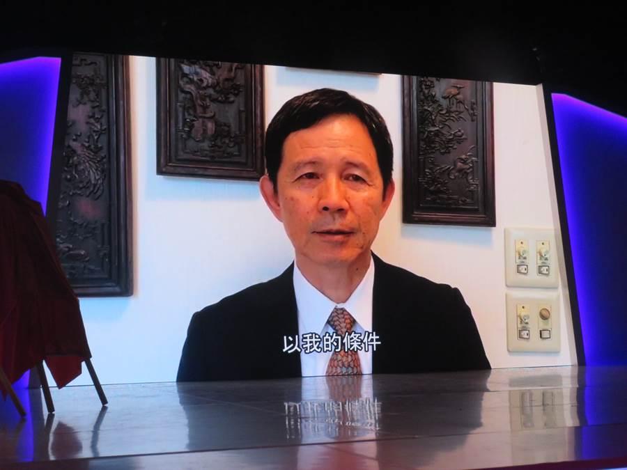 莊勝雄表示,入選台灣棒球名人堂,讓他覺得「棒球人生沒有白走一遭」。(台灣棒球名人堂提供/廖德修台北報導)