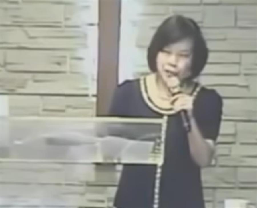 因「斷開魂結,斷開鎖鏈,斷開一切的牽連」爆紅的女牧師郭美江4日早上逝世,享壽67歲。(摘自臉書)