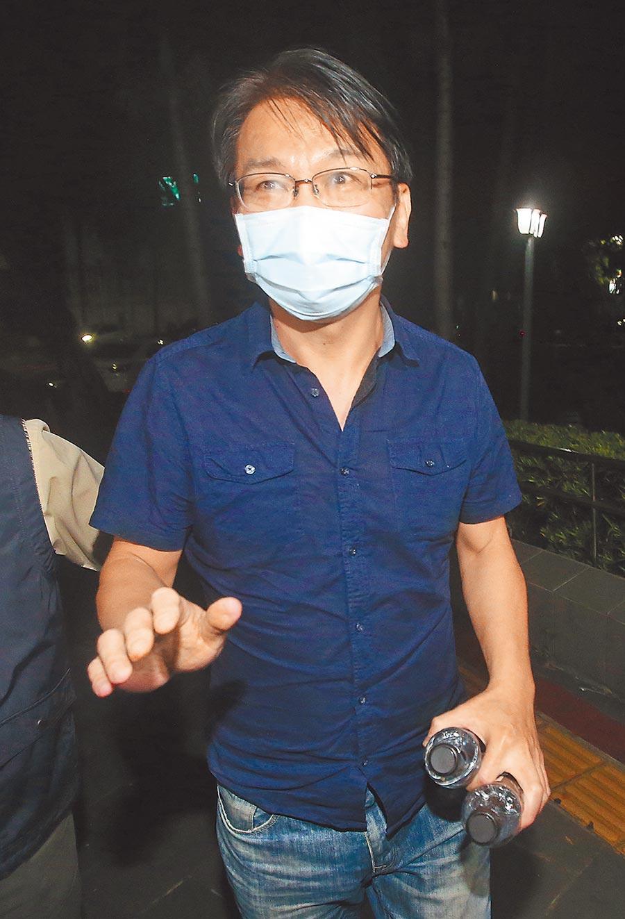 時代力量黨主席徐永明涉嫌收賄遭聲押,台北地院3日開庭到凌晨結束。台北地院決定今天下午公布裁定結果。(本報資料照片)