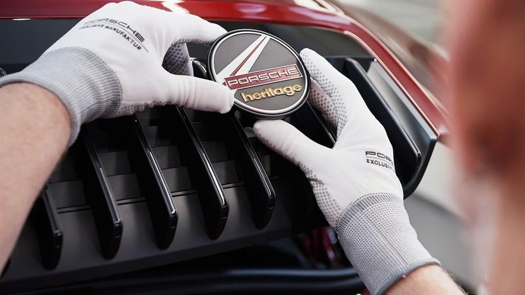 Porsche Heritage Design:櫻桃紅和燈芯絨的絕配經典復興