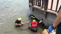 八里「半顆頭顱」卡觀景台 疑為北市水利處遭絞碎員工
