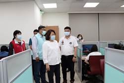 防疫鬆綁不鬆懈 嘉義市長黃敏惠訪視補教業防疫現況