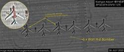 中印衝突搧风点火  美秀卫星照片:轰-6K出现新疆喀什机场