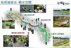 埔里規劃改善河岸景觀 重現好水風采