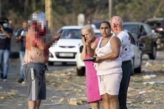 影》貝魯特港口全毀 街上居民都是血 戰地記者驚喊:此...