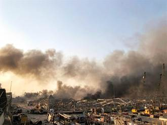 緊急取材》黎巴嫩驚天炸出蕈狀雲 貝魯特淪煉獄