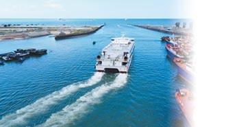 造價1.6億人幣 北遊26輪首航
