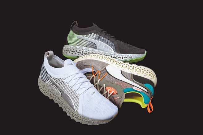 PUMA和MIT合作研發的跑鞋科技,9月上市,價格店洽。(PUMA提供)