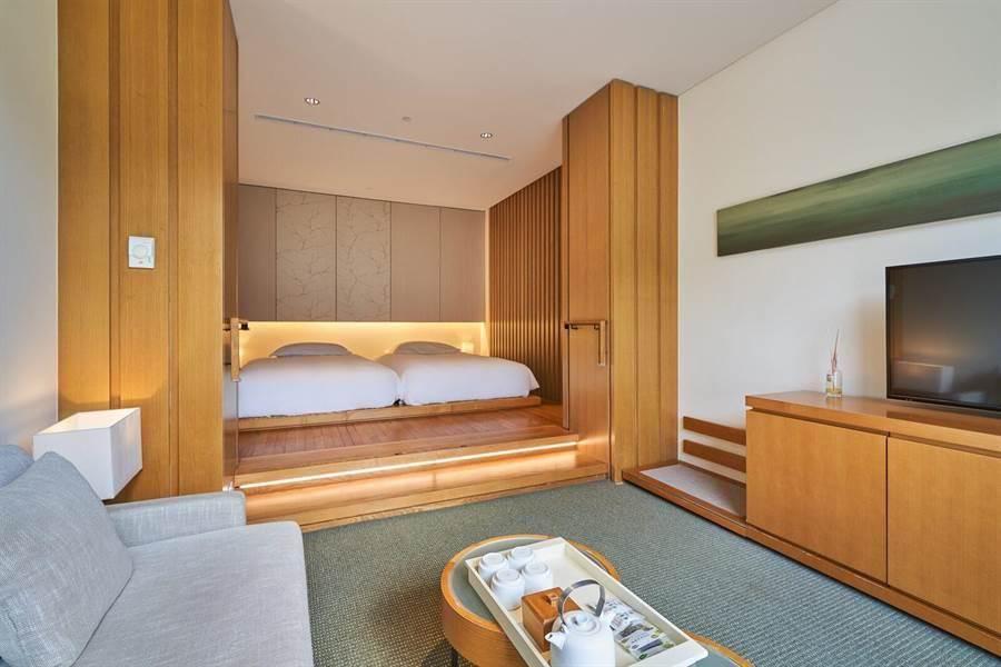 礁溪老爺酒店客房雅致,暑假住房幾乎客滿。(圖/宜蘭礁溪老爺提供)
