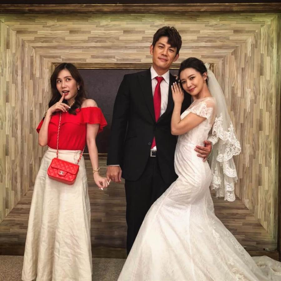 陳志強、吳婉君和王宇婕在劇中有精彩的三角關係。(圖/FB@陳志強)