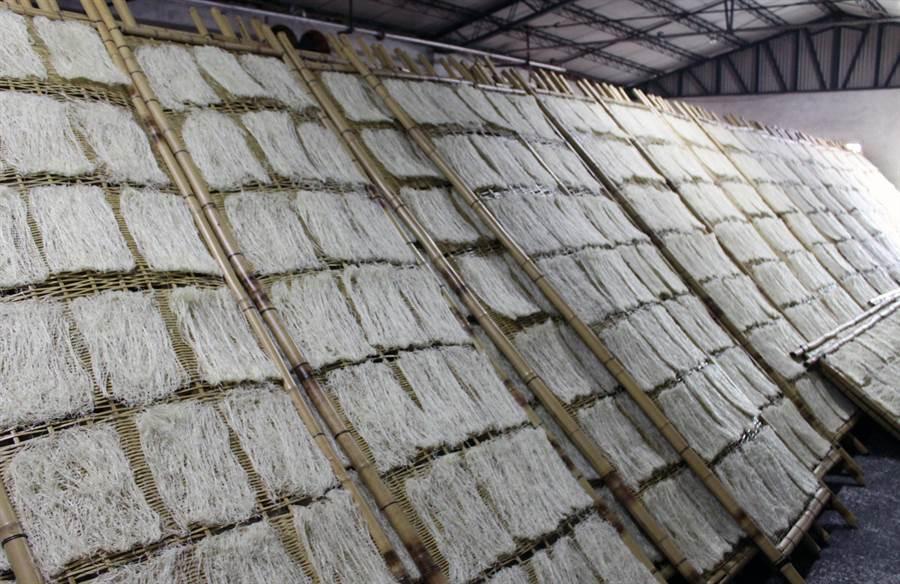 芬園楓坑米粉好吃出了名,卻待建立更響亮的品牌。(吳敏菁攝)