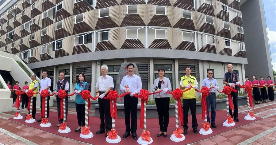 南投投監理5日開幕,成為「翻轉」監理服務全國第一站。(廖志晃攝)