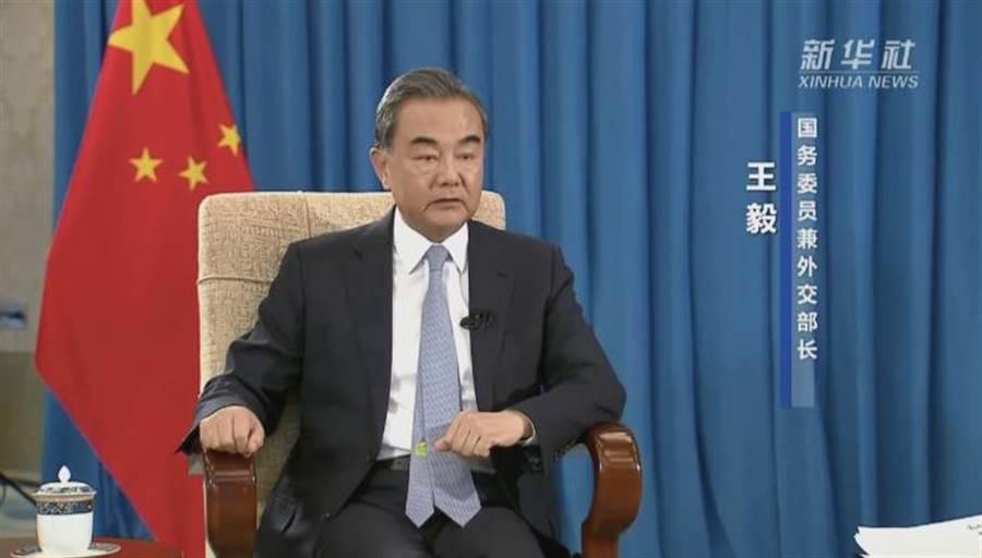 新華社5日刊出對大陸國務委員兼外長王毅的專訪。(取自新華網)