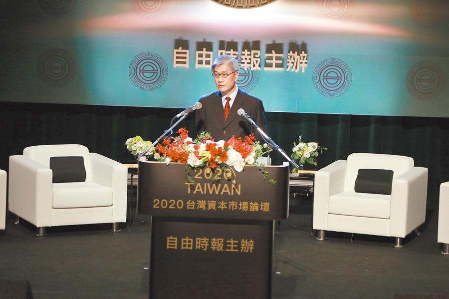 金管會主委黃天牧:未來十年是台灣30年來難得的好機遇。