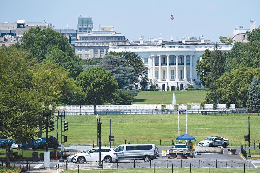 《環球時報》總編輯胡錫進主張增加核武數量與美國抗衡。圖為美國華盛頓白宮。(新華社)