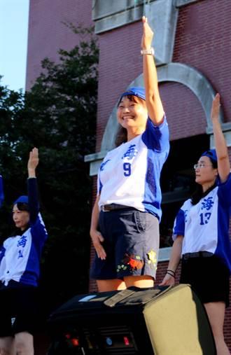 瀛海「美少女戰士」榮獲教育部體育績優活動貢獻獎