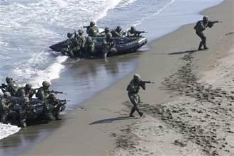 大陸模擬東沙奪島演習 陸戰隊持續密派兵力增援戰備