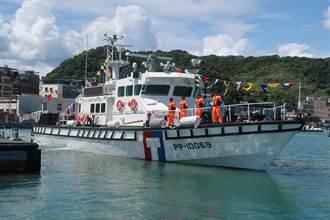 新造百噸艇報到 強化北部海域執法能量