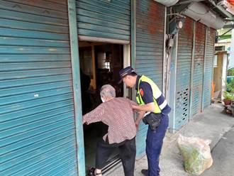 老婦外出散步暈倒撞傷 警協助救援返家