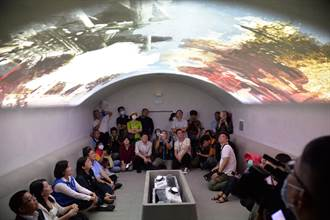 雲林「新媒體藝術眷村」 體驗不一樣的防空洞氛圍