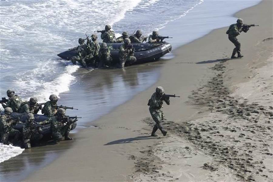 海軍陸戰隊操演2死1傷,檢方表示無延誤搜救沒人應負刑責。(中時資料庫)