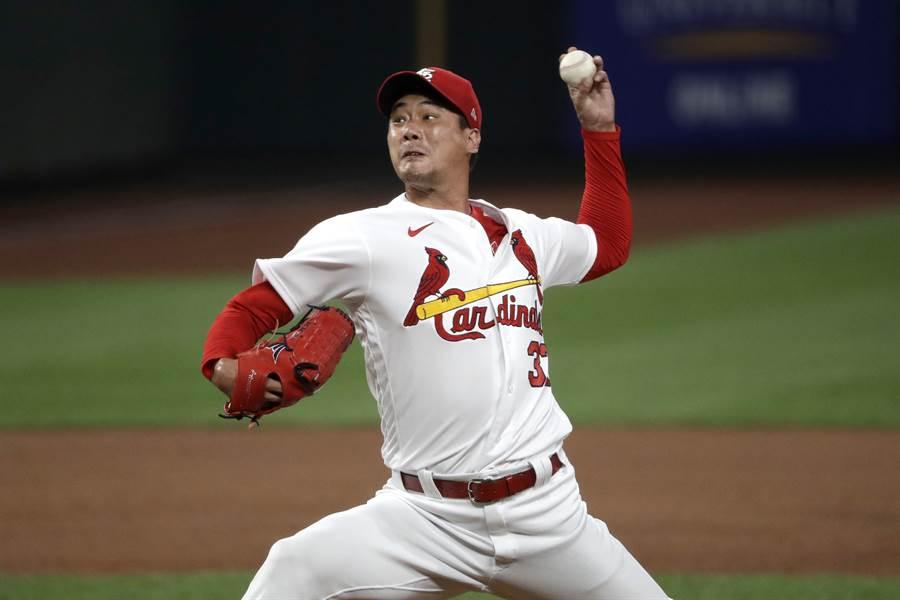 韓籍投手金廣炫在下周將要首度於大聯盟先發。(美聯社資料照)