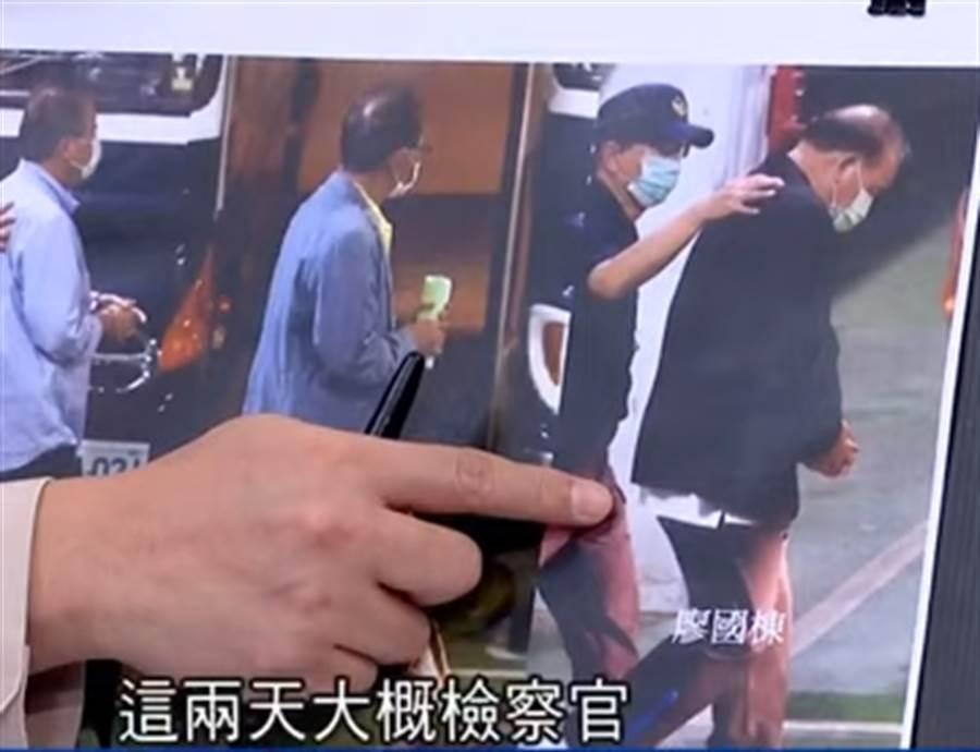 蘇震清(左)、陳超明(中)和廖國棟。(圖片摘自鄭知道了Youtube)