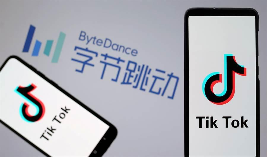 抖音海外版TikTok成為美陸角力新戰場。(路透)