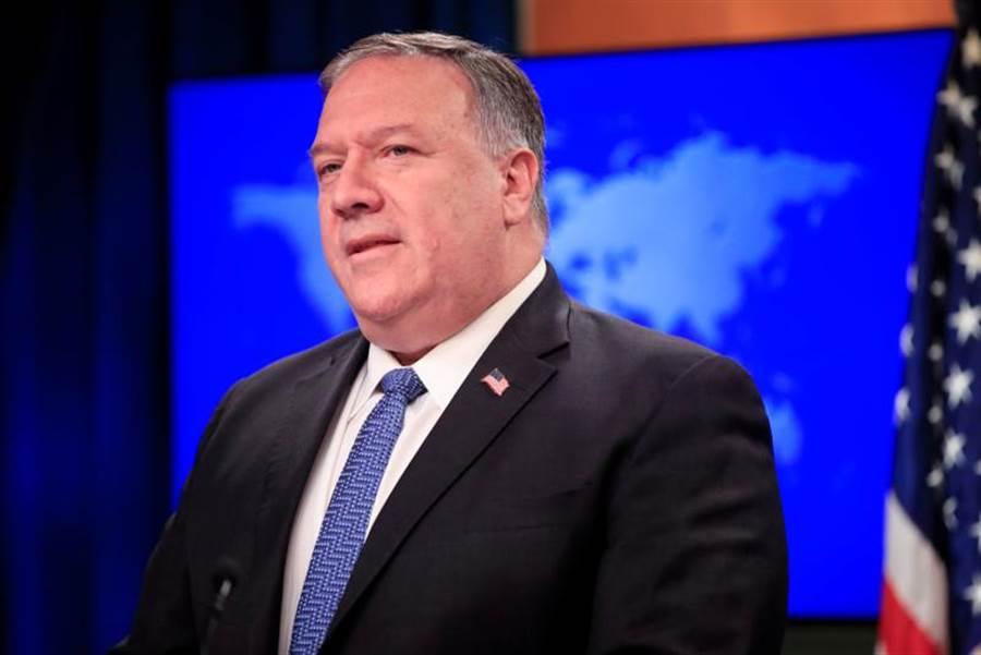美國國務卿龐佩奧(Mike Pompeo)說,聯合國安理會將在下週表決美國所提出的「對伊朗擴大國際武器禁運」。(圖/路透)