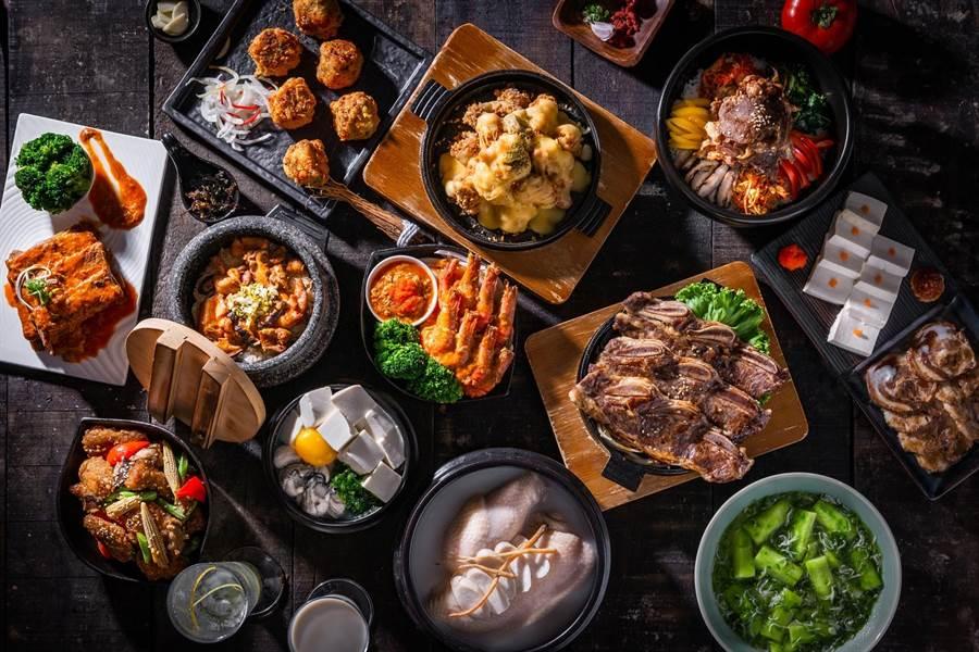 韓式主題餐廳「涓豆腐」業績表現亮眼。(豆府餐飲集團提供)