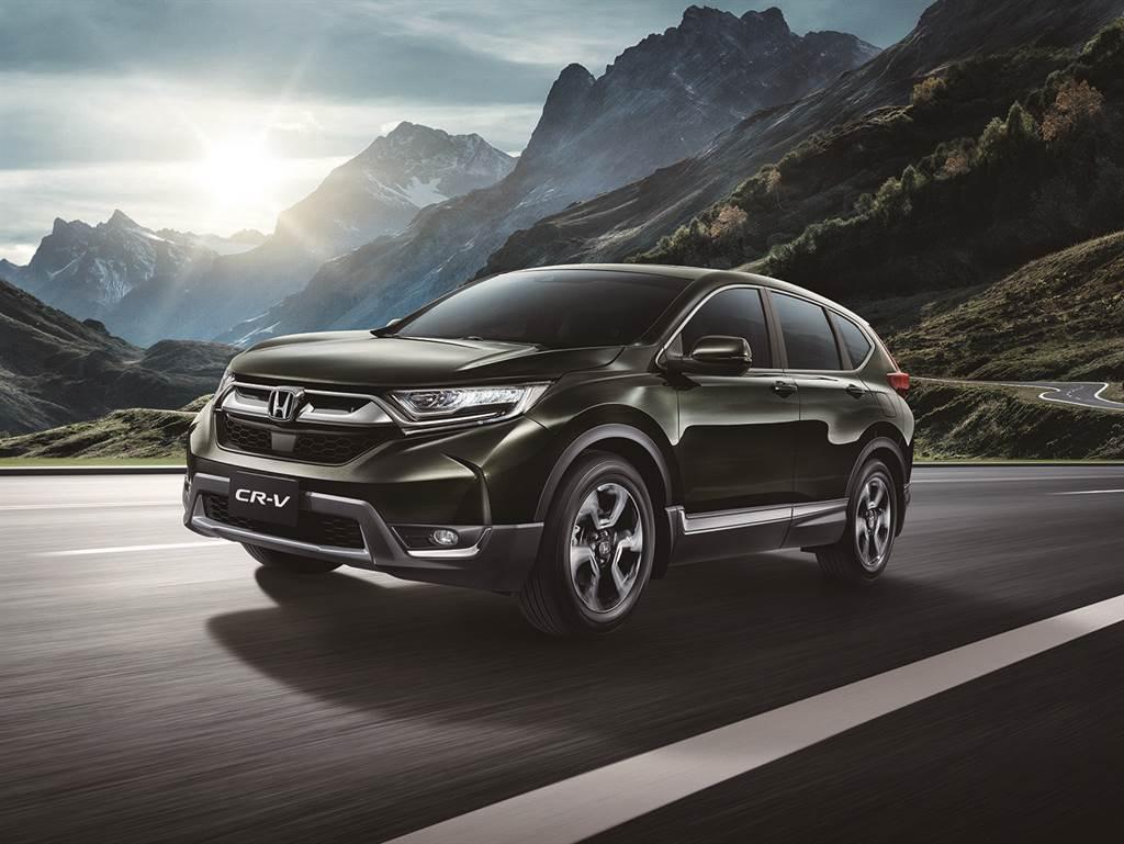 歡慶Honda CR-V勇奪國產SUV 7月銷售冠軍 本月入主加碼5倍好禮