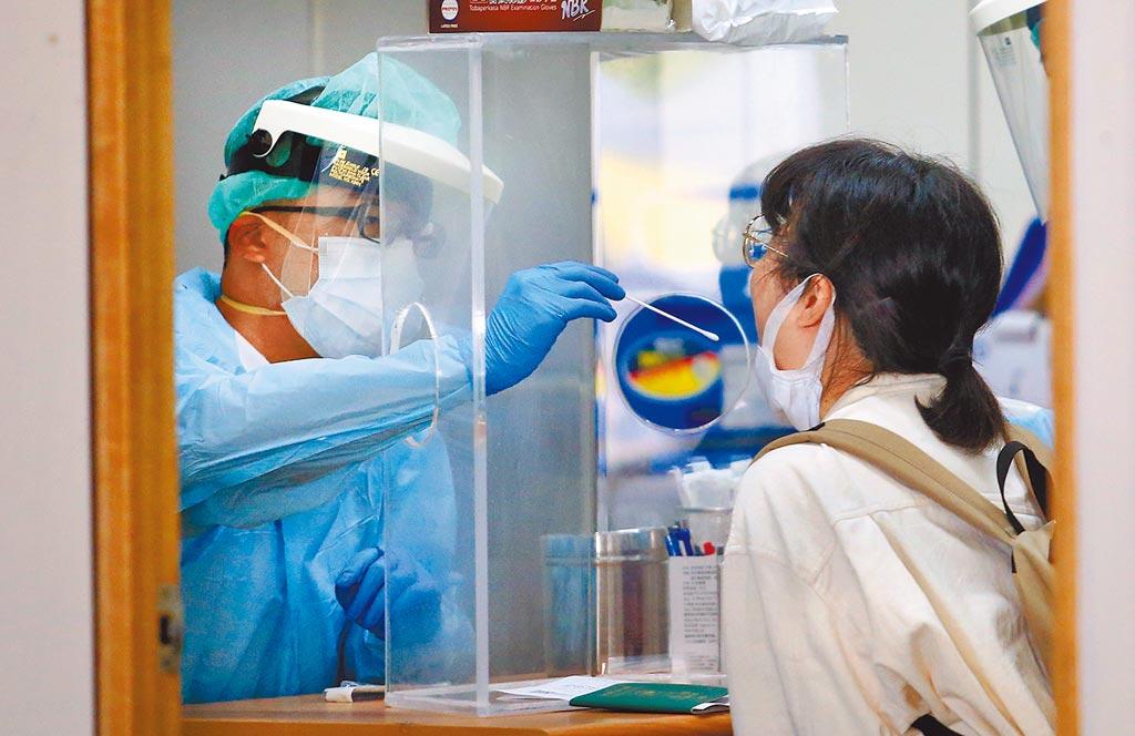 美國衛生部長阿薩爾一行訪台,他們入境只在機場檢測,不用居家檢疫14天。(中時報系資料照片)