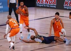 NBA》太陽高高掛 復賽4戰全勝升第10