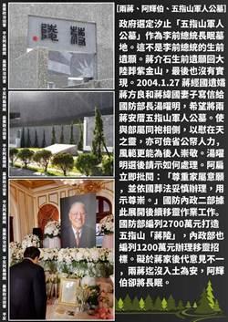 下葬五指山 陳水扁:這不是李前總統遺願