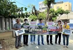 護樹團體批砍樹修球場 中市教育局:要求校方立即停工