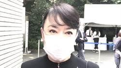翁倩玉東京悼念李登輝回憶滿滿