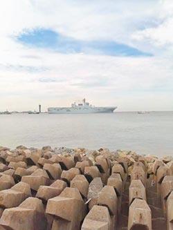 075兩棲艦海試 陸對台作戰新王牌