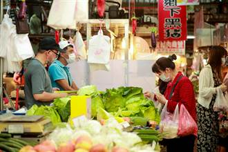 中市府7月消費者物價指數  較上月下跌0.07%