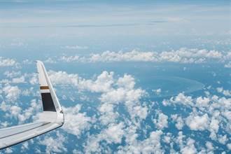 張國煒首飛「偽出國」送彩蛋 高空欣賞東沙群島環礁
