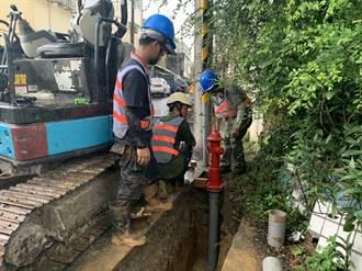 打火還須借水、抽池水 桃園龍潭高平里新設5消防栓供救災