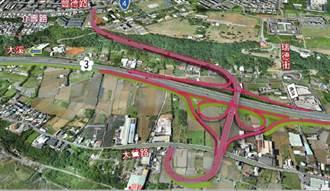 國道3號增設大鶯豐德交流道 通過可行性研究