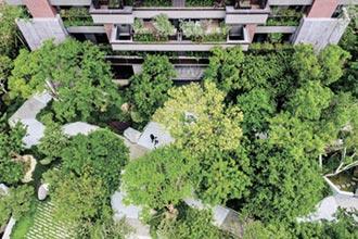 陸府觀森全綠覆建築 台中宜居宅
