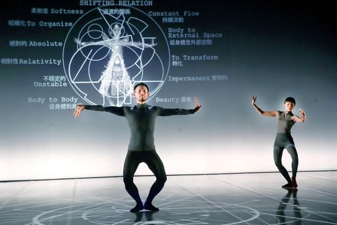 曾获法国艺术文化奖、美国洛克斐勒三世大奖的泰国编舞家皮歇.克朗淳(左),长年致力把泰国传统舞蹈转换成现代风格,这趟来台,与弟子同台演出编创长达20年的新作《No.60》。(郑任南摄)
