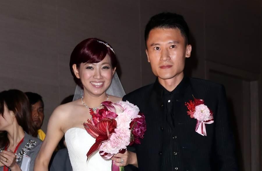 米可白當年與尾牙大王謝銘杰結婚。(資料照)