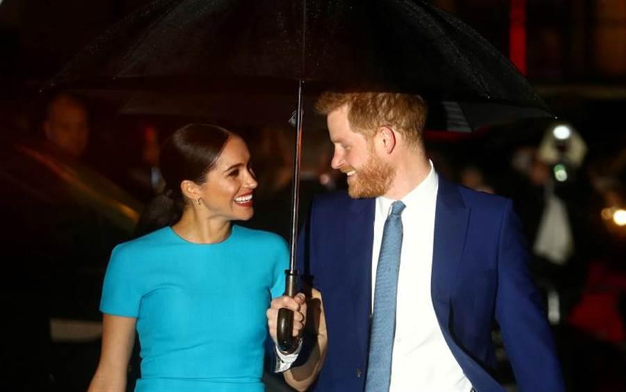 英國薩塞克斯公爵哈利王子夫婦,已開始推動「停止以仇恨牟利」運動,以對抗社群平台上的仇恨言論。(路透)