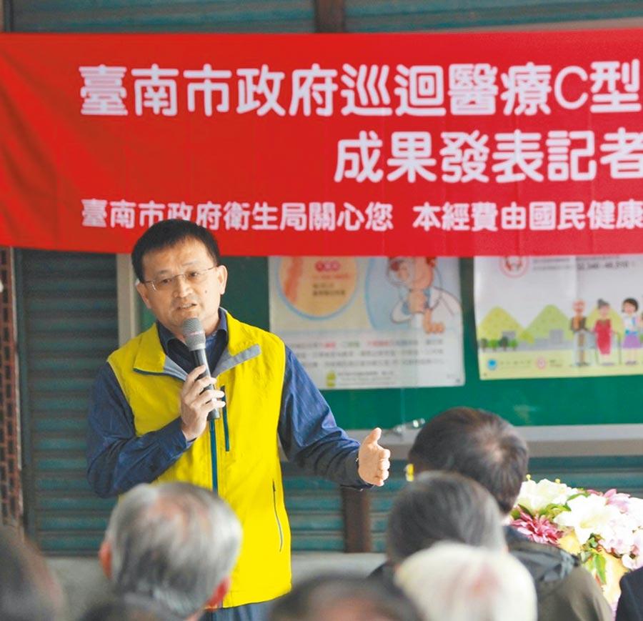 傳出婚外情風波後,台南市衛生局長陳怡6日以健康因素請辭。(本報資料照片)
