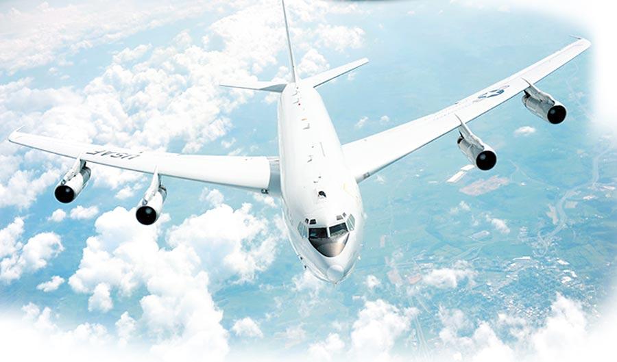 美軍E-8C「聯合星」。(取自美國空軍官網)