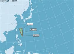 熱帶低壓明恐發展成颱 吳德榮:引進西南氣流影響至12日
